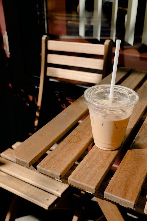 Gratis arkivbilde med bord, cappuccino, daggry, drikke