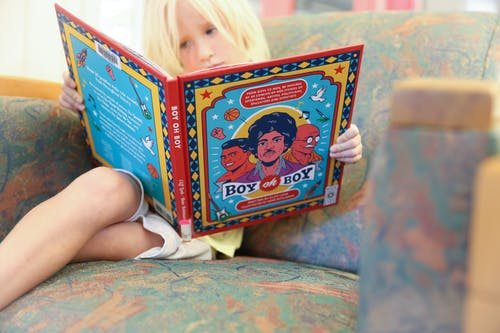 Free stock photo of books, children, reading
