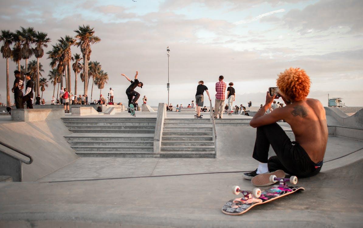 Photo Of Skate Park During Daytime