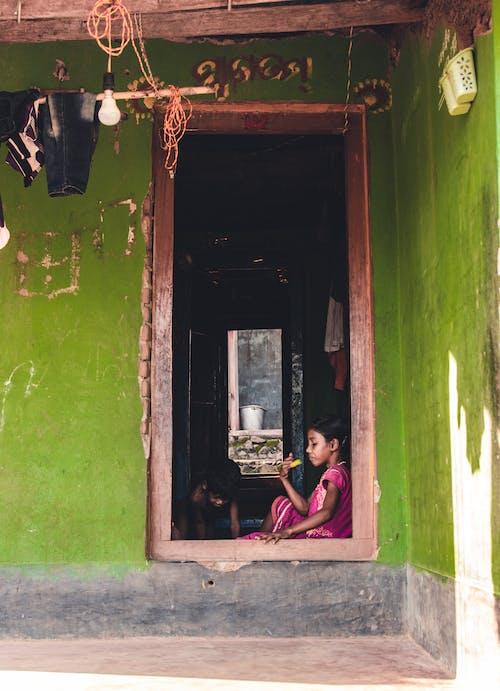 Free stock photo of asia, broken, child, door