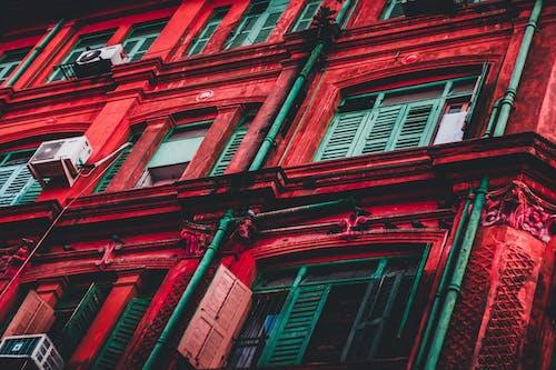 Ảnh lưu trữ miễn phí về các cửa sổ, góc chụp thấp, kiến trúc, mặt tiền