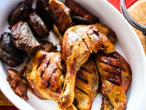 Fotos de stock gratuitas de carne, cena, pato, pato asado