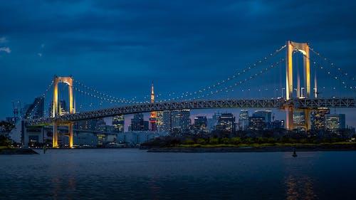 东京晴空塔, 亞洲, 交通系統, 吊橋 的 免费素材照片