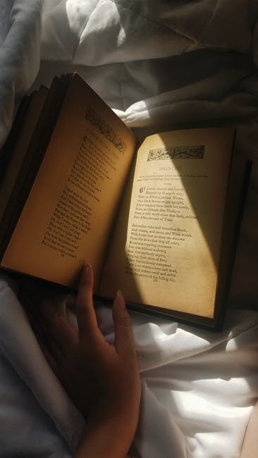 Photo of opened book