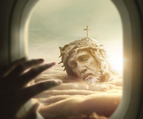 イエス・キリスト, キリスト, キリスト教の, フライトの無料の写真素材