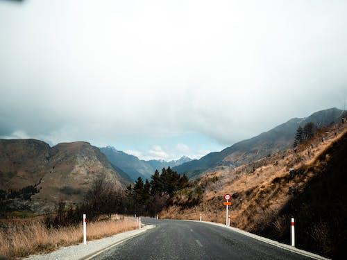 Ảnh lưu trữ miễn phí về đường, lãnh nguyên, New Zealand, những đám mây
