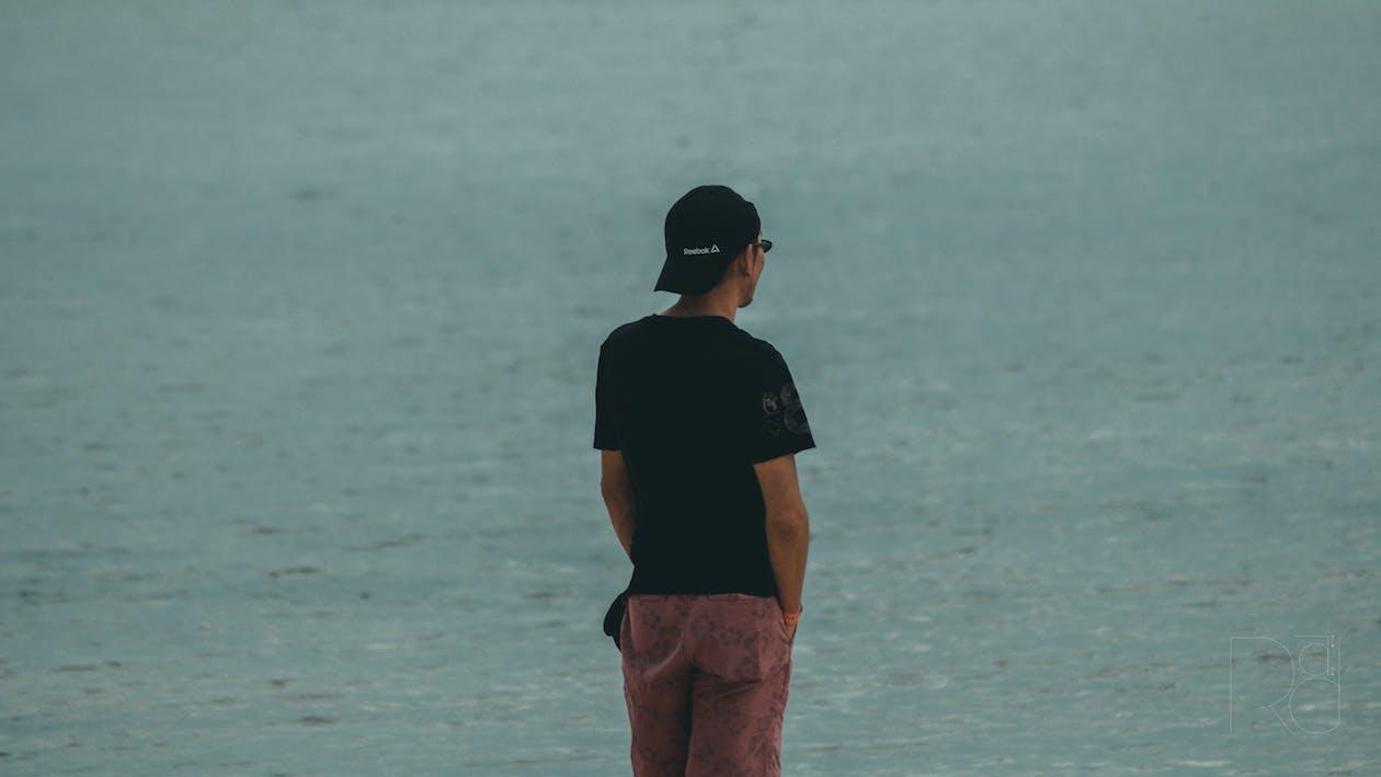 descansar, platja, sol