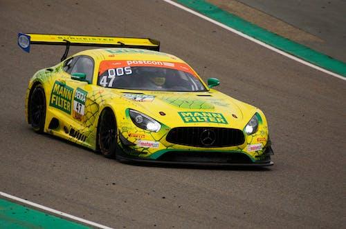 Free stock photo of amg, auto racing, car
