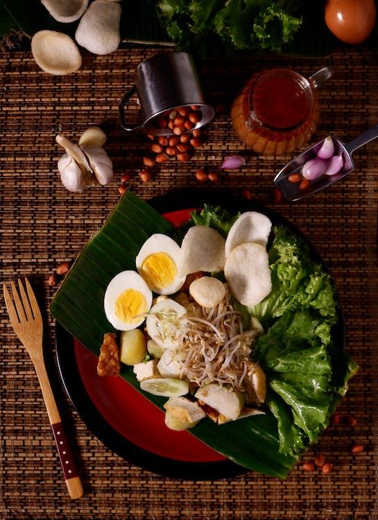 abendessen, asiatisches essen, ei