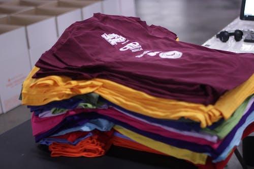 Free stock photo of custom merch, custom t-shirts, custom tees
