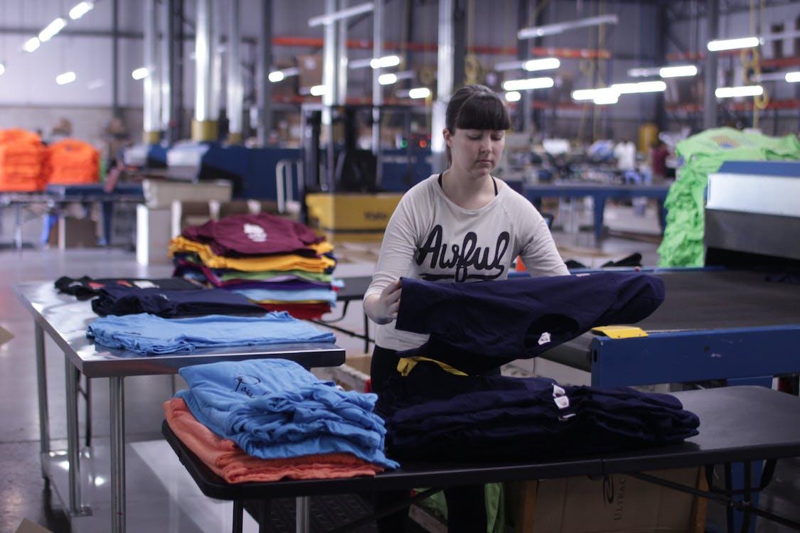Free stock photo of custom t shirts, customized, production