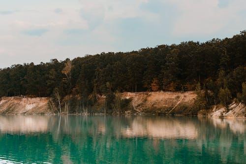 Darmowe zdjęcie z galerii z jezioro, natura, niebieska woda, park