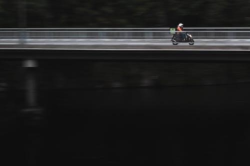 Immagine gratuita di consegna, scooter