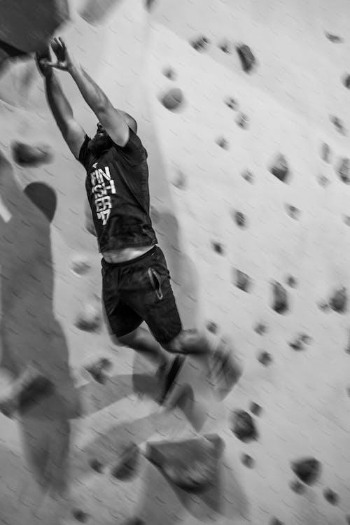 Immagine gratuita di arrampicata, bouldering, salto