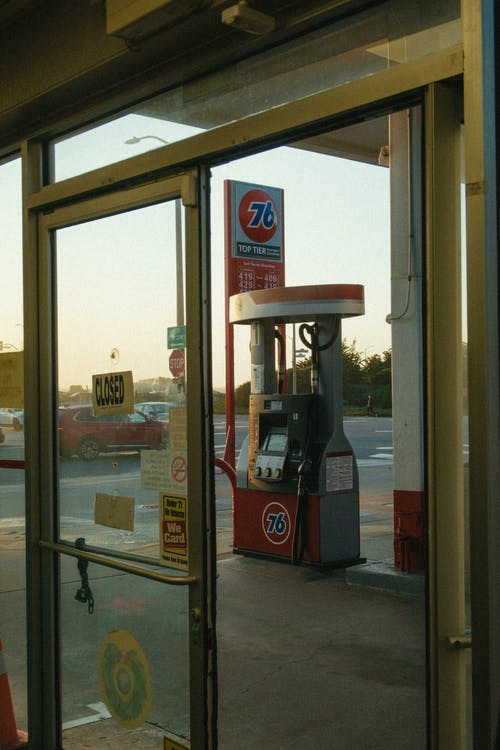 Gas Station during Day