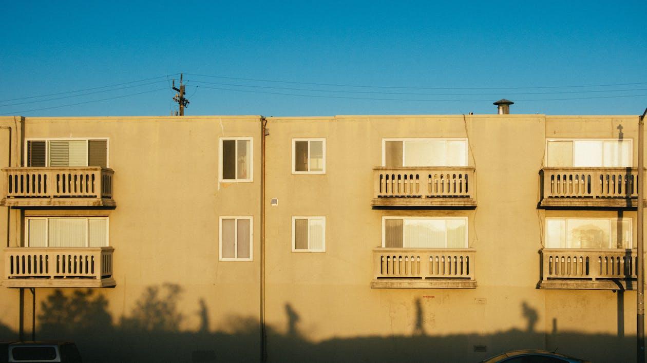 arkitektonisk design, arkitektur, balkonger