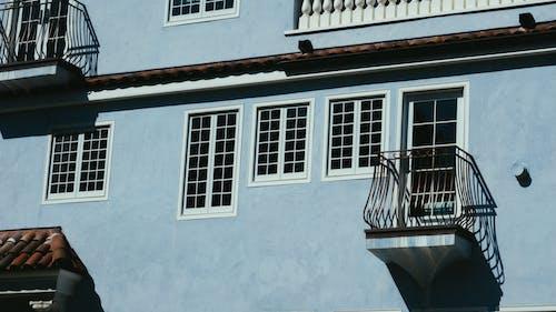テラス, ドア, バルコニー, 前面の無料の写真素材