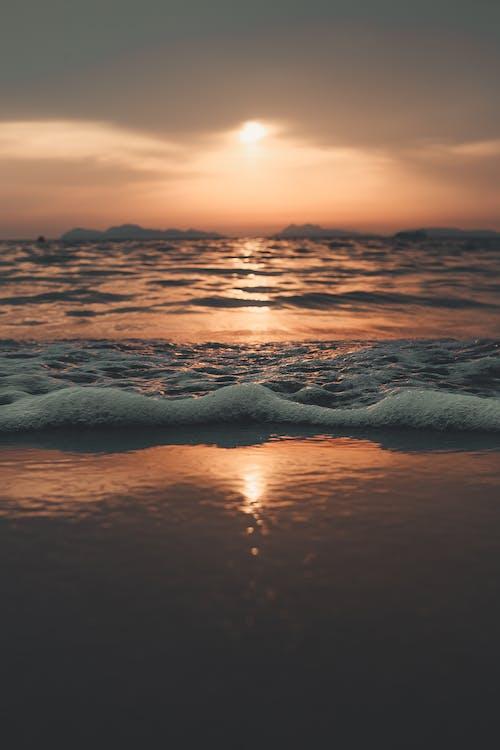 bầu trời, biển, bờ biển