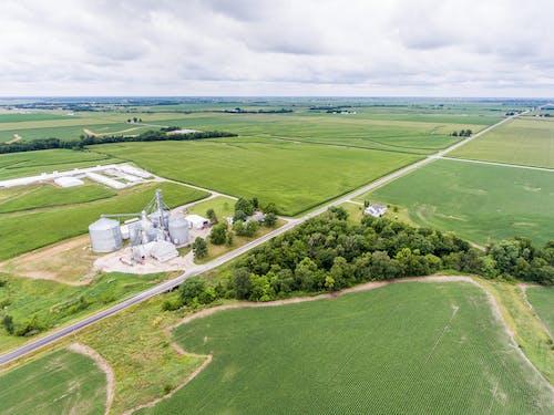 Foto profissional grátis de aéreo, ag negócios, agricultura, área