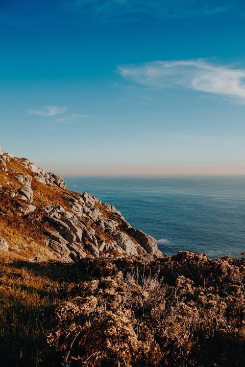 açık, açık hava, akşam karanlığı, deniz içeren Ücretsiz stok fotoğraf