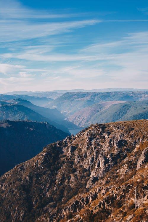 bergen, bergketen, bergtop