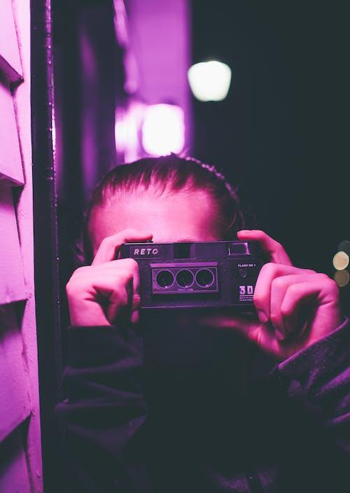 Orang Yang Menggunakan Kamera