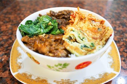 Free stock photo of rice bowl
