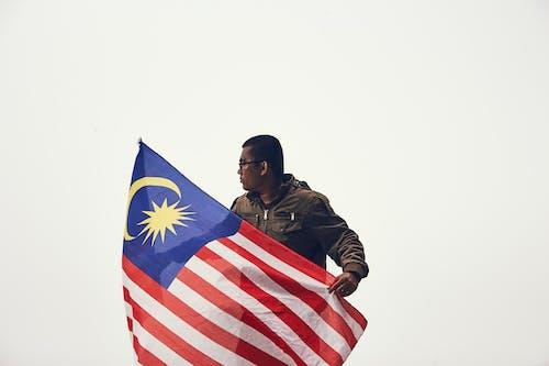 Foto d'estoc gratuïta de Administració, bandera, democràcia, home