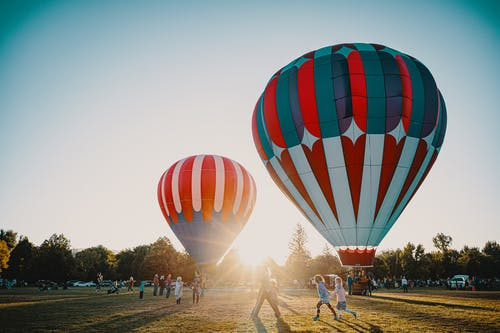 Gratis stockfoto met ballonnen, hete luchtballonnen, vlucht