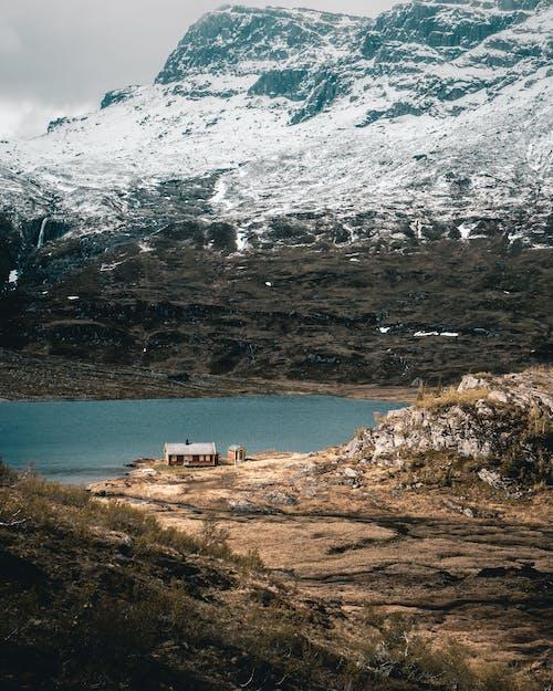 คลังภาพถ่ายฟรี ของ ชายทะเล, ทะเล, ทะเลสาบภูเขา, ทะเลสาป