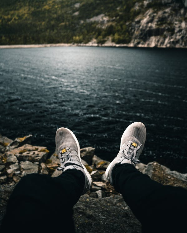 calçat, fiord, llac