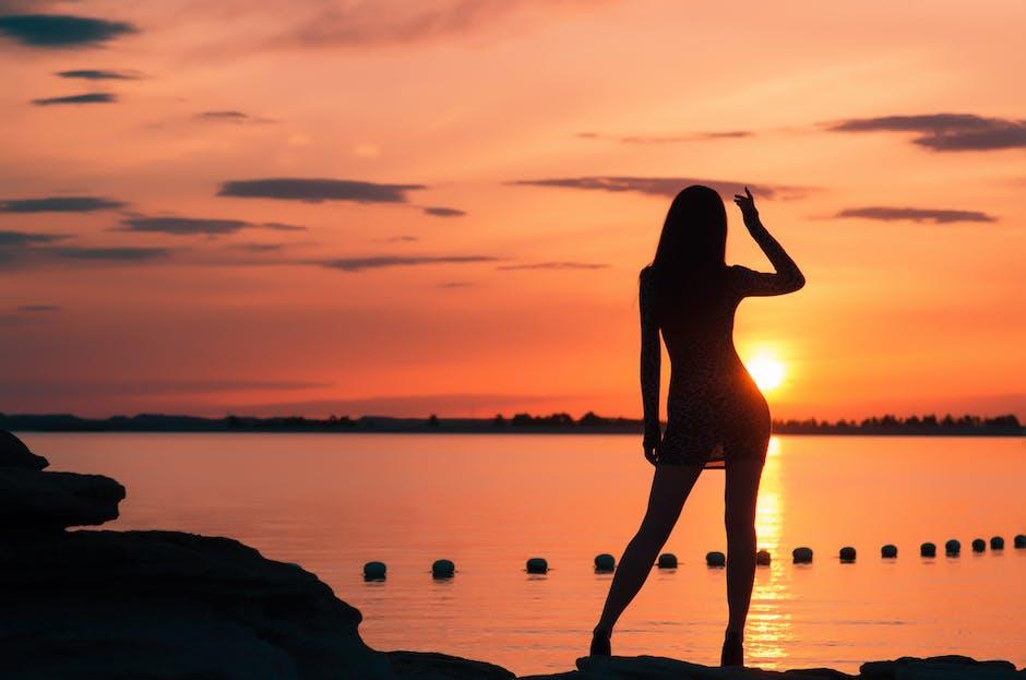 backlit, beach, dawn