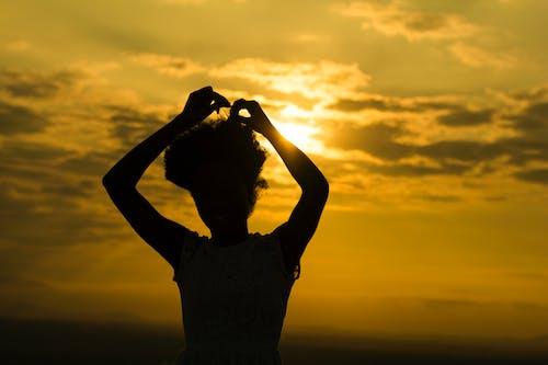 Ảnh lưu trữ miễn phí về bầu trời buổi tối, bóng, chụp ảnh sáng tạo, hoàng hôn đẹp