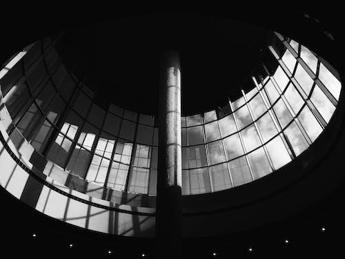 Ingyenes stockfotó építészet, építészeti terv, épület, fekete-fehér témában