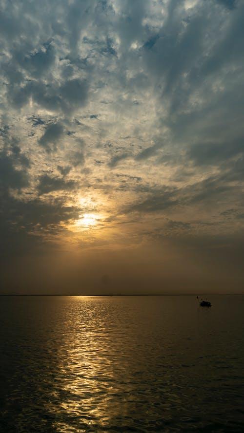 Бесплатное стоковое фото с бангладеша, красивый закат, небо, облако