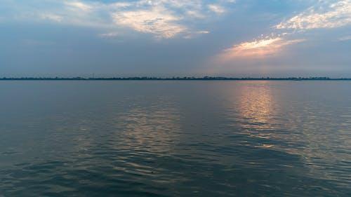 Бесплатное стоковое фото с бангладеша, вода, закат, небо