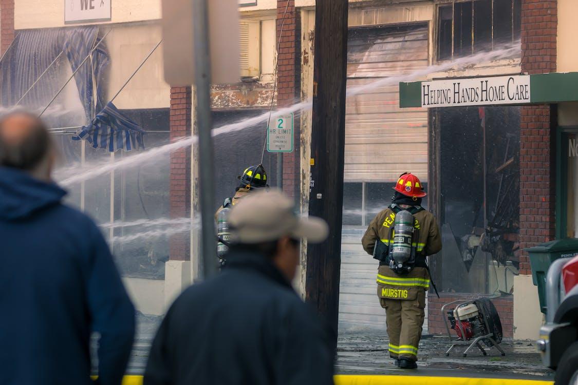 fire, fire fighters, firemen