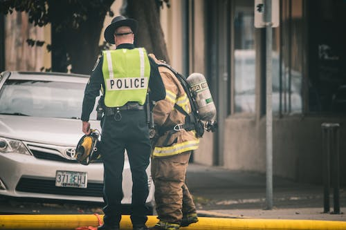 Free stock photo of editorial photo, fire, firefighter, first responders
