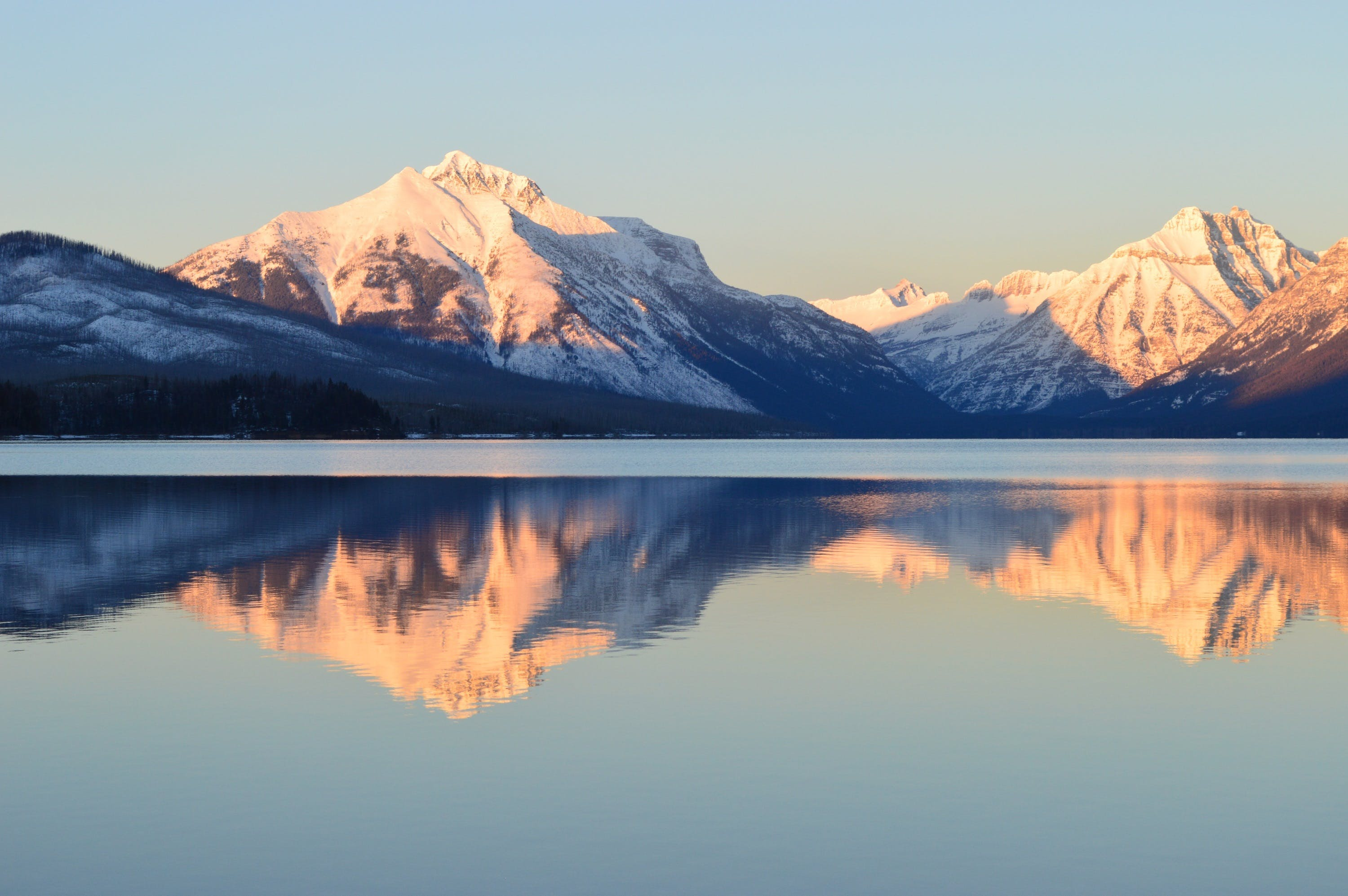 Reflective Photography of Alps Mountain