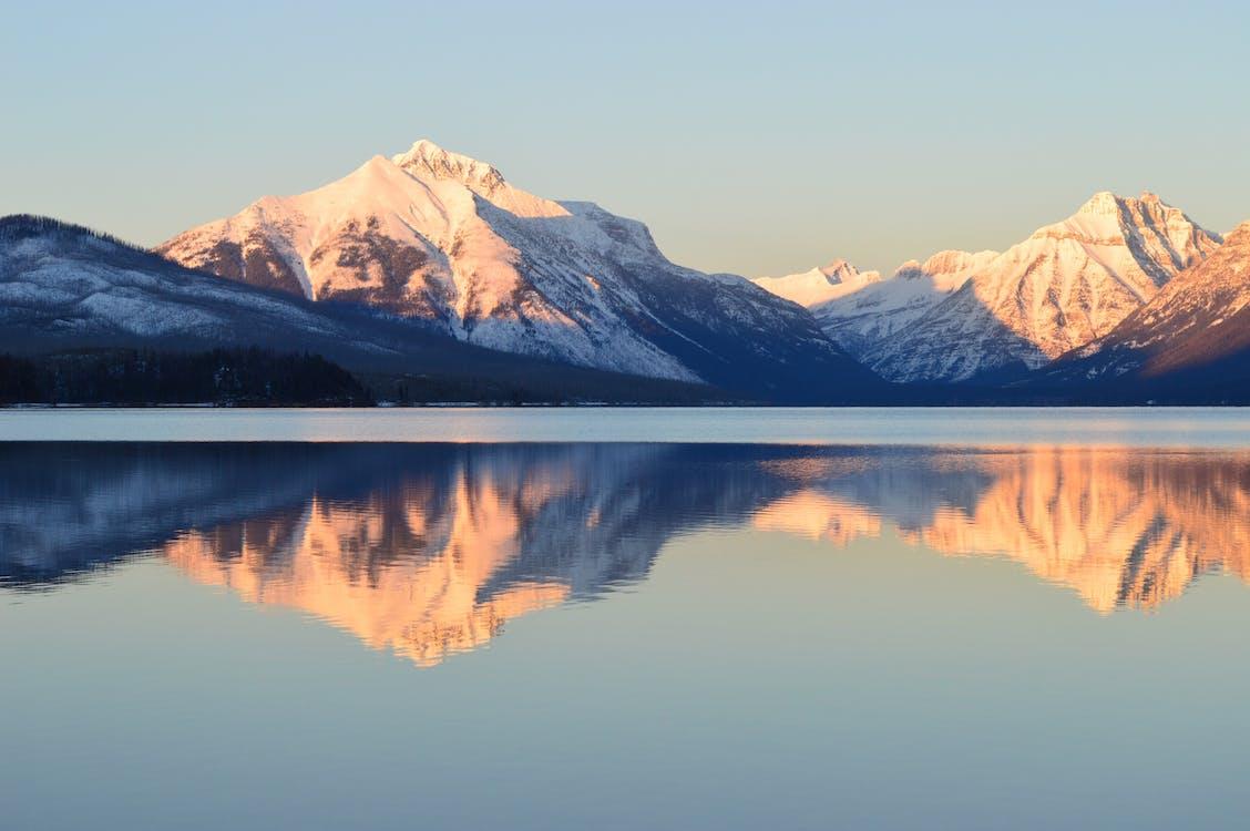 Photo Of Mountain Alps Near Lake
