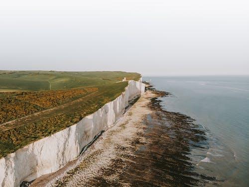 天性, 岸邊, 從上面, 海 的 免费素材照片
