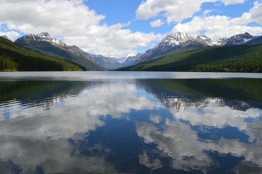 Free stock photo of glacier, landscape, mountains, nature