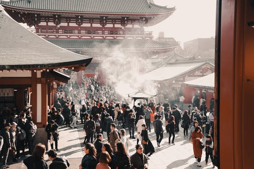 Free stock photo of crowd, japan