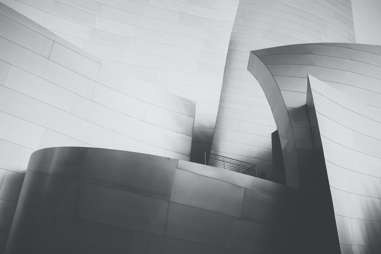 architecture, black-and-white