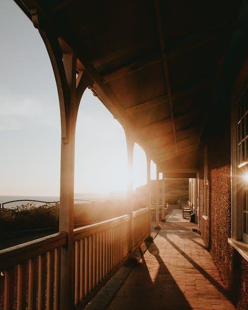 คลังภาพถ่ายฟรี ของ กลางแจ้ง, การออกแบบสถาปัตยกรรม, ซุ้มประตู, ตอนเช้า
