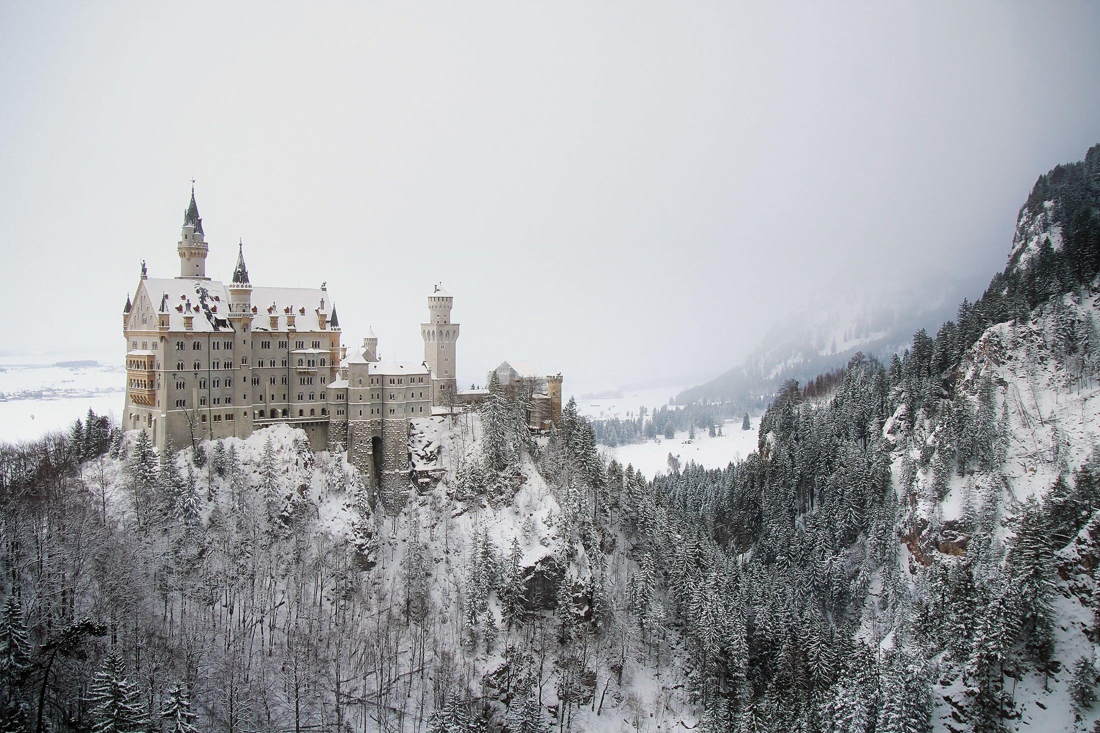 Castle on Cliff