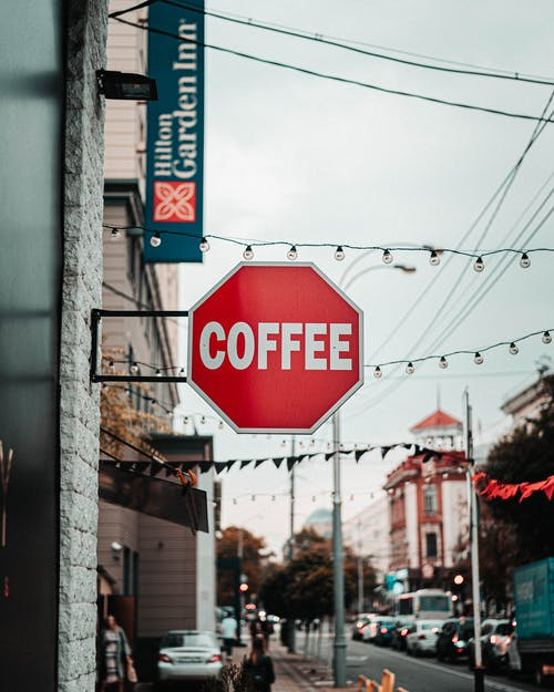 Coffee Signage on Wall