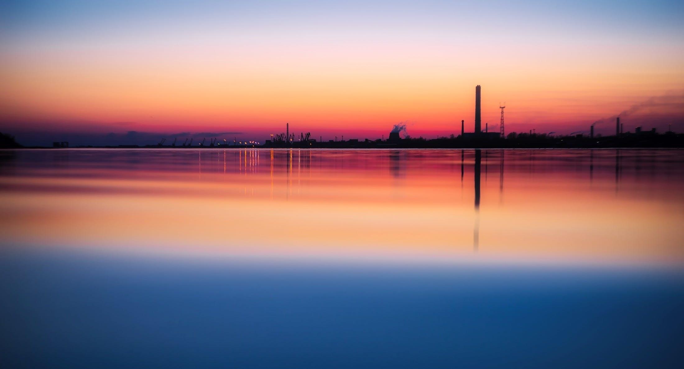 colors, dawn, dusk