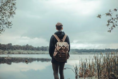 Безкоштовне стокове фото на тему «вид ззаду, відображення, відпочинок, вода»