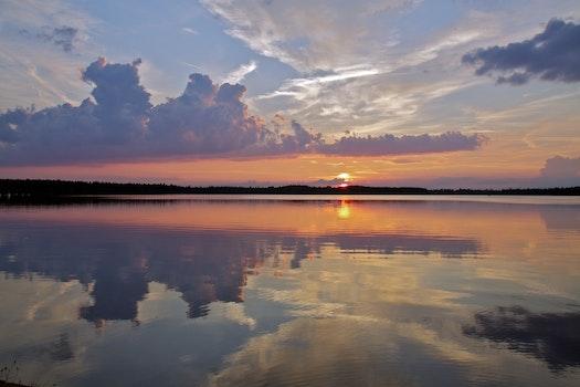 Free stock photo of sea, dawn, landscape, nature